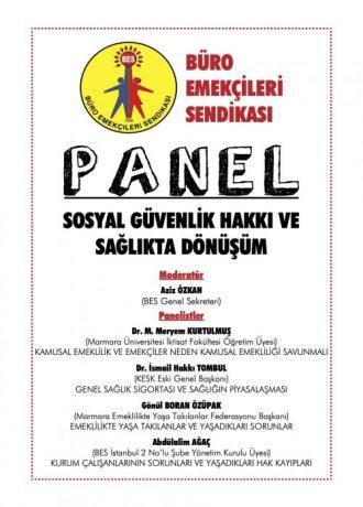 SGK HAFTASI PANEL (20.05.2021)